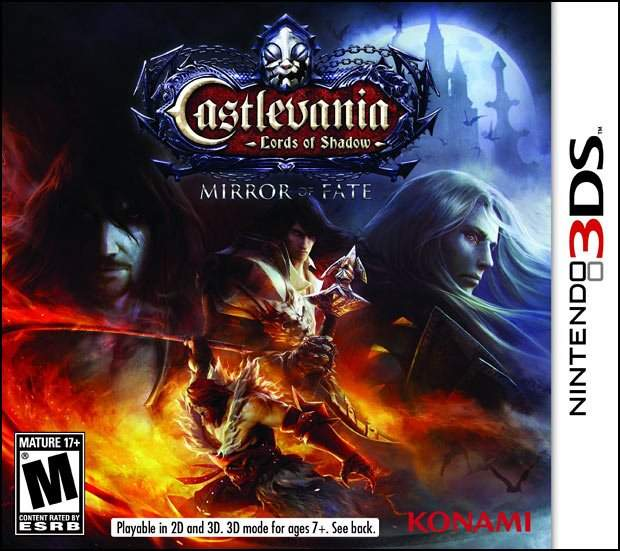 Castlevania: Lords Of Shadow Mirror Of Fate North American Box Art