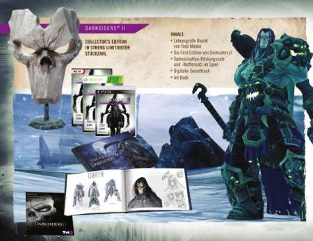 Darksiders ii collectors edition confirmed for europe.