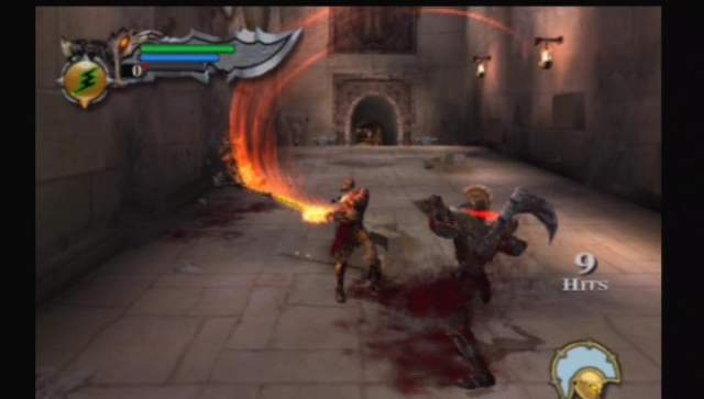 God of War PS2 screen 2