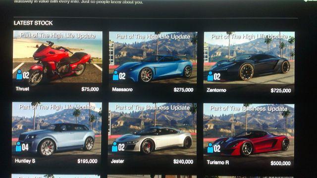 Gta Online Buy Cars Website