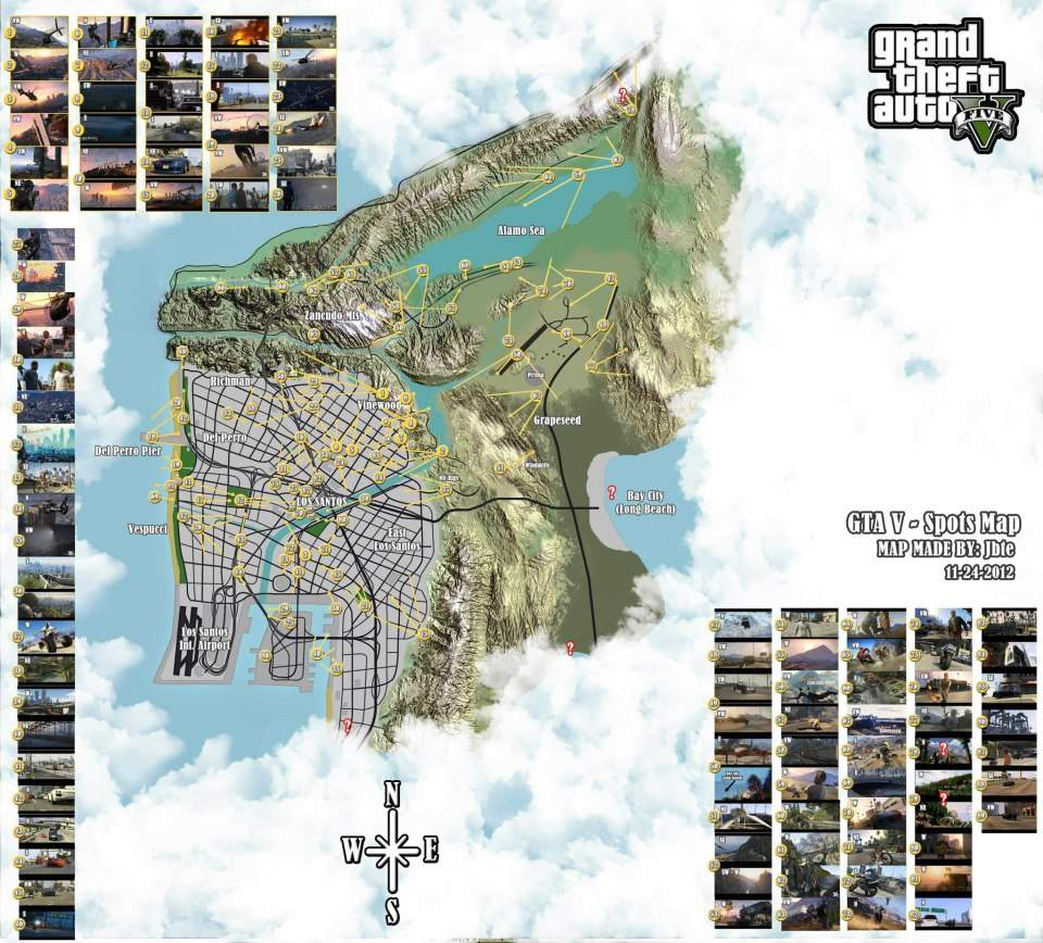 GTA V: Los Santos Fan Made Map