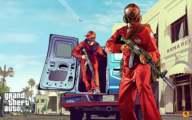 GTA V Pest Control Artwork