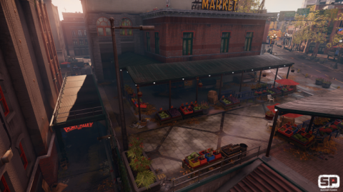 Infamous: Second Son Screen With Indirect Diffuse Lightning