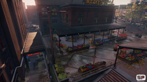 Infamous: Second Son Screen Without Indirect Diffuse Lightning