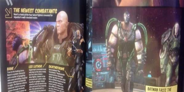 BANE and Lex Luthor in Injustice: Gods Among Us