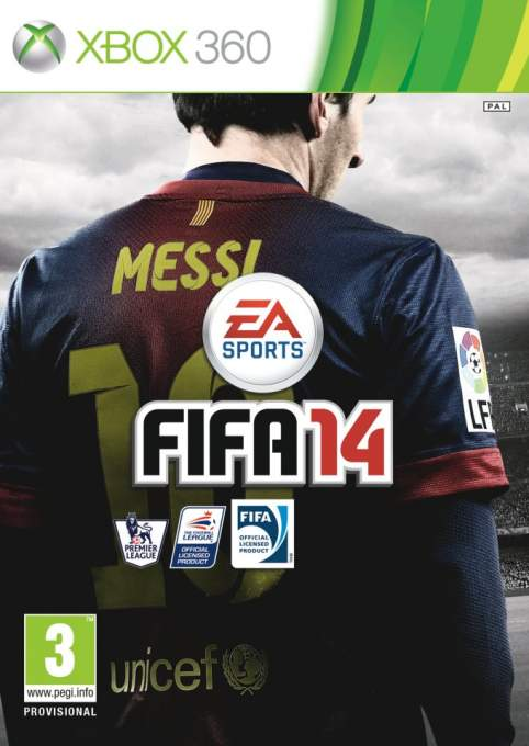 FIFA 14 Cover Star Lionel Messi