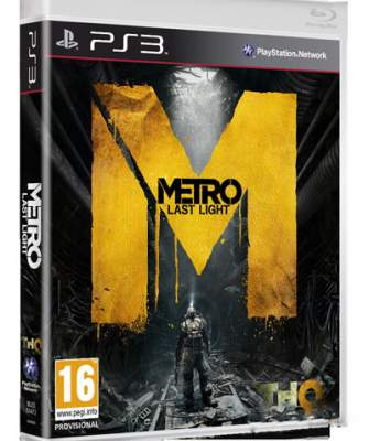 Metro: Last Night Box Art