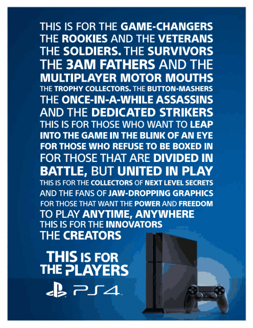 PS4 Launch In India Media Invitation Image 1
