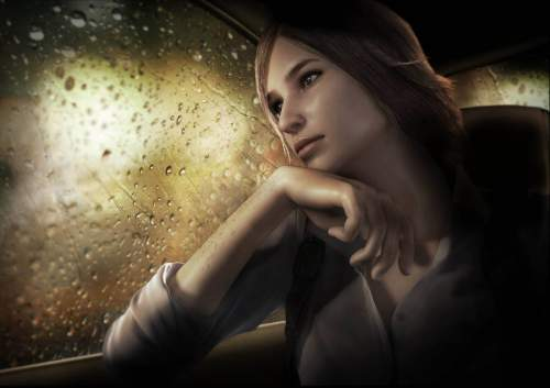 The Evil Within Screen Showing Female Character