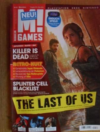The Last of Us German Magazine Preview