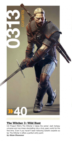 The Witcher 3 GameInformer Scan 1