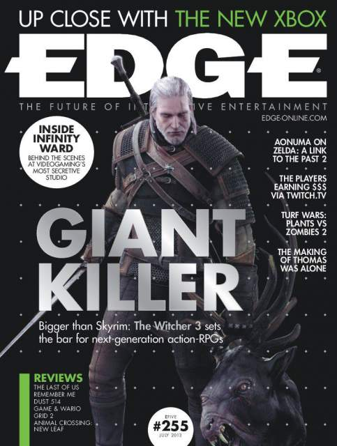 The Witcher 3: Wild Hunt New Details unveils via Edge Magazine