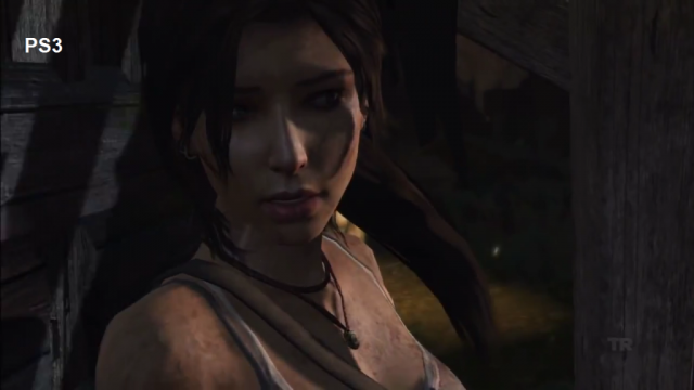 Tomb Raider PS3 Comparison Screen 1