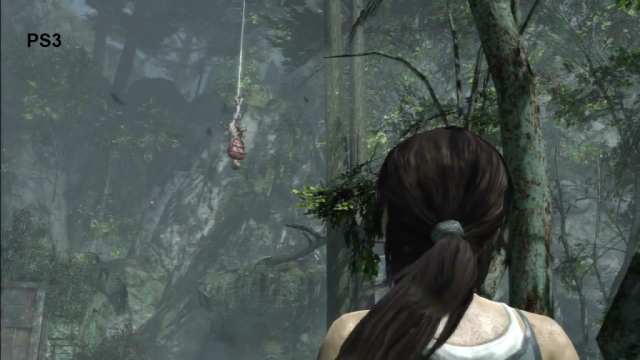 Tomb Raider: Definitive Edition PS3 Comparison Screen 2