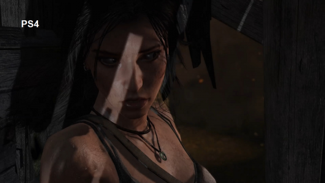 Tomb Raider PS4 Comparison Screen 1