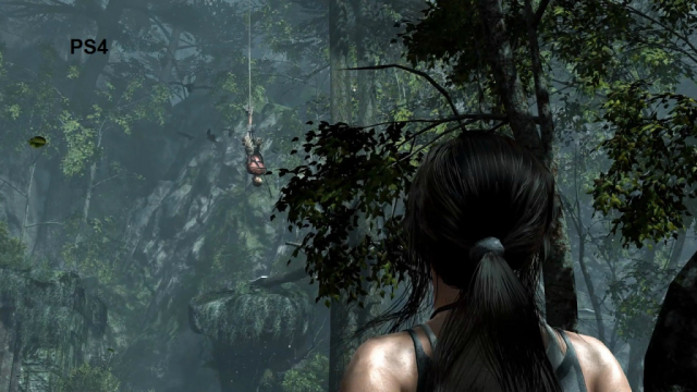 Tomb Raider: Definitive Edition PS4 Comparison Screen 2
