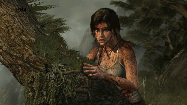 Tomb Raider PS4 Comparison Screen 3