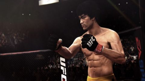 Bruce Lee Character Model In UFC