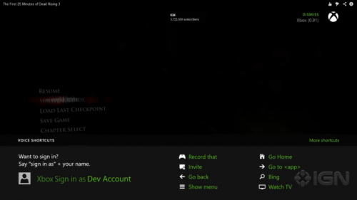FanMade Xbox One InGameGuide Menu Designs Are Amazing Nelson - Game menu design