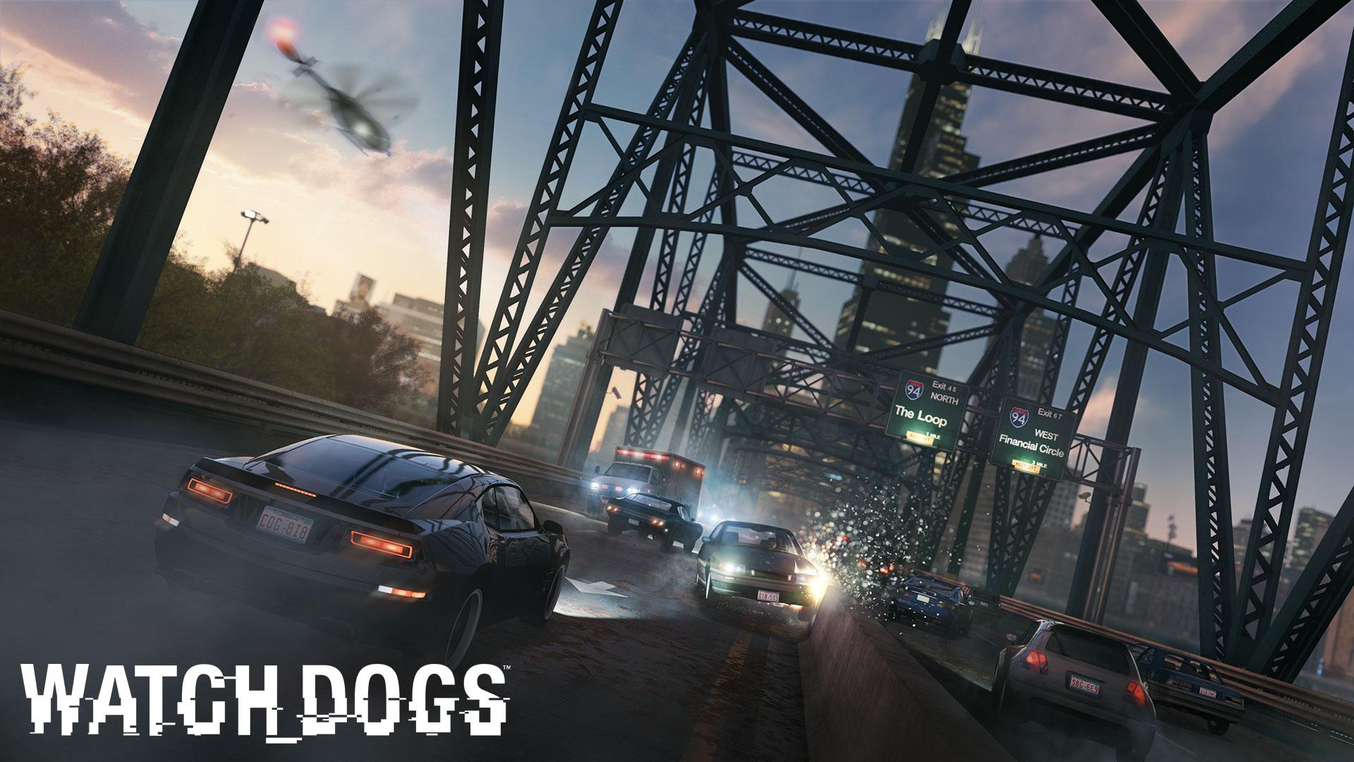 watch dogs wallpaper 1 1 یک اسکرین شات جدید از عنوان Watch Dogs منتشر شد;مواظب رانندگی خود باشید !