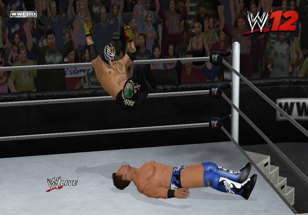 New Wrestling Game For Ps3 : Wwe wii screenshots are amazing