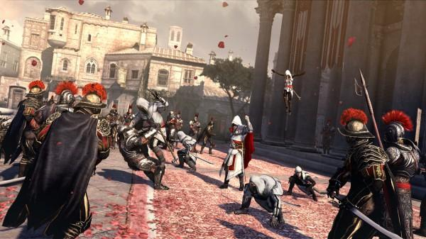 Assassin's Creed Brotherhood Screen