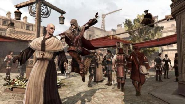 Assassin's Creed Brotherhood, Multiplayer, gameplay, pics