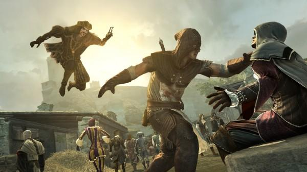 Assassin's Creed: Brotherhood, Multiplayer, Footage