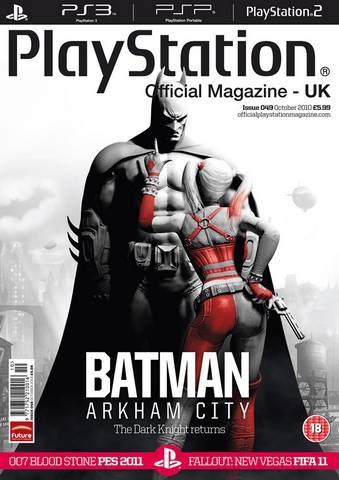 Batman: Arkham City Box Art PS3 Screenshot