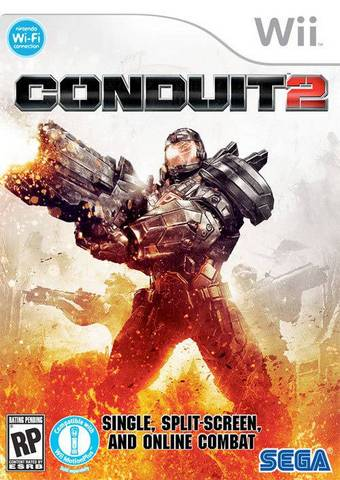 Conduit 2 cover wii