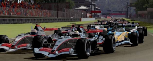 F1 2010 racing game screenshot