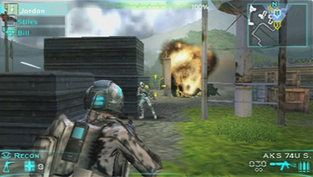 Tom Clancy's Ghost Recon Predator PSP Wii Screenshot