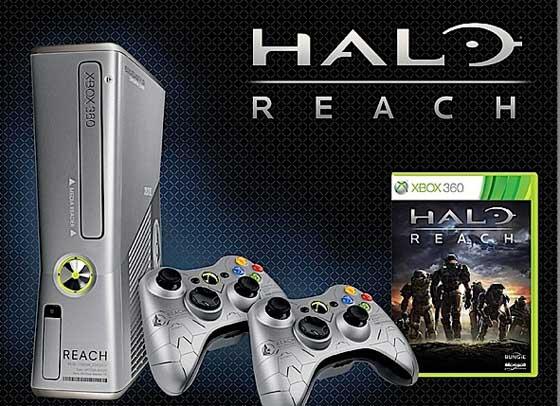 Halo Reach, Halo Reach Xbox 360, Halo Reach Xbox 360 Slim
