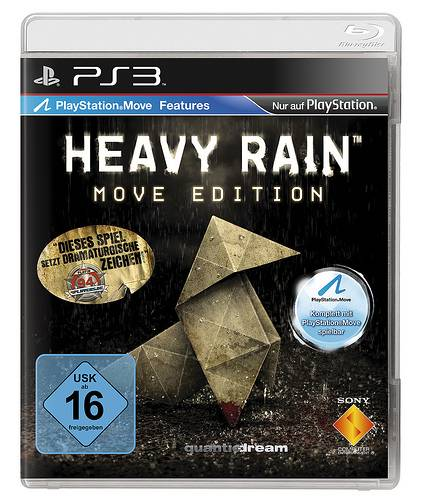 Heavy Rain Move Edition, playstation