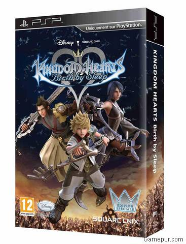 Kingdom Hearts: Birth By Sleep, Kingdom Hearts: Birth By Sleep Special Edition