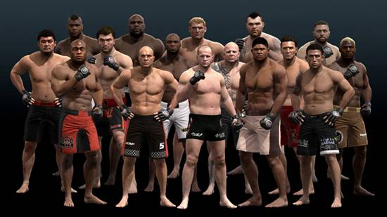EA MMA screenshot wallpaper