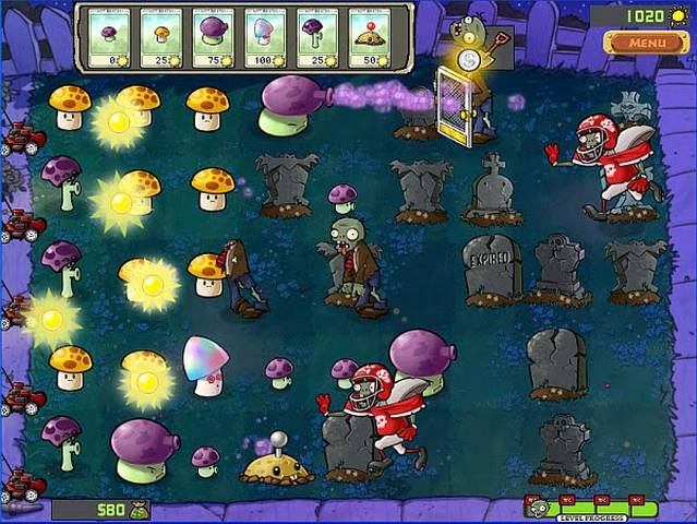 Plants vs. Zombies for Nintendo DS Screenshot