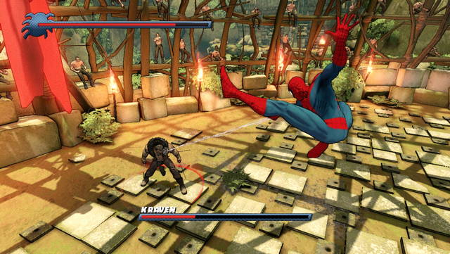 Spider Man shattered dimension screen
