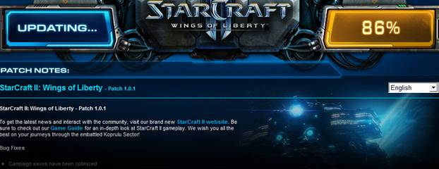 starcraft ii wings of liberty patch update