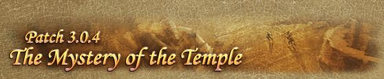 Runes of Magic Update, Runes of Magic Patch, The Mystery of the Temple