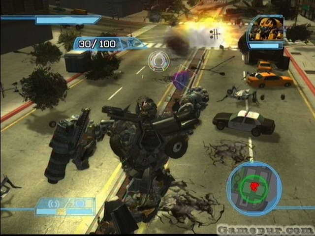 Transformers War For Cybertron,Gameplay, Footage