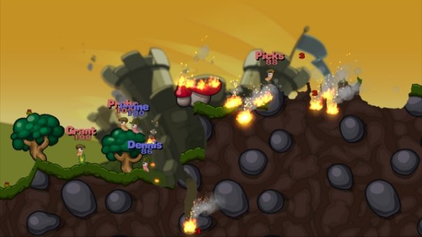 Worms 2: Armageddon screenshot, PS3, Xbox 360