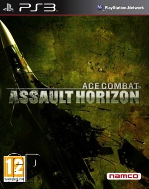 Ace Combat Assault Horizon ps3 box art