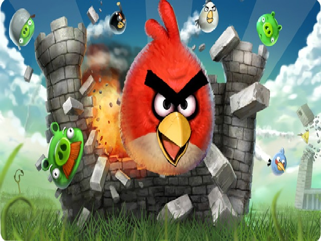 Angry Birds screen