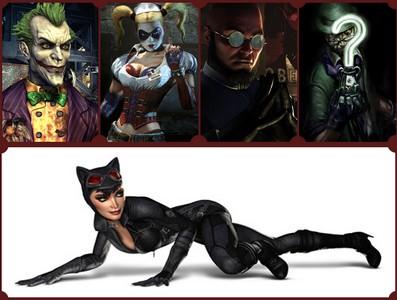 Batman: Arkham City Characters