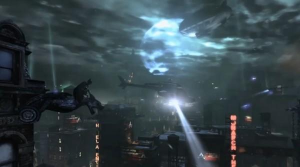 Arkham City in Dark