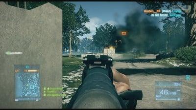 Battlefield 3 Smoke