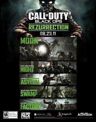 Black Ops Rezurrection DLC