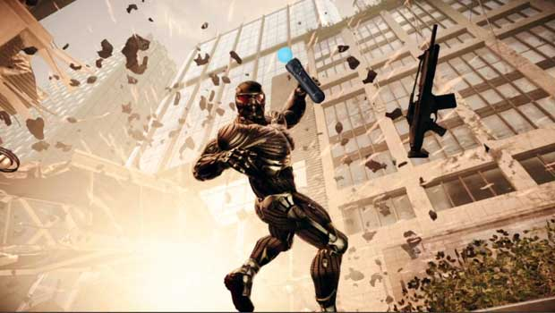 Crysis 2 with PS Move