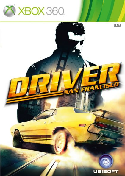 Driver: Sans Francisco Xbox 360 box art